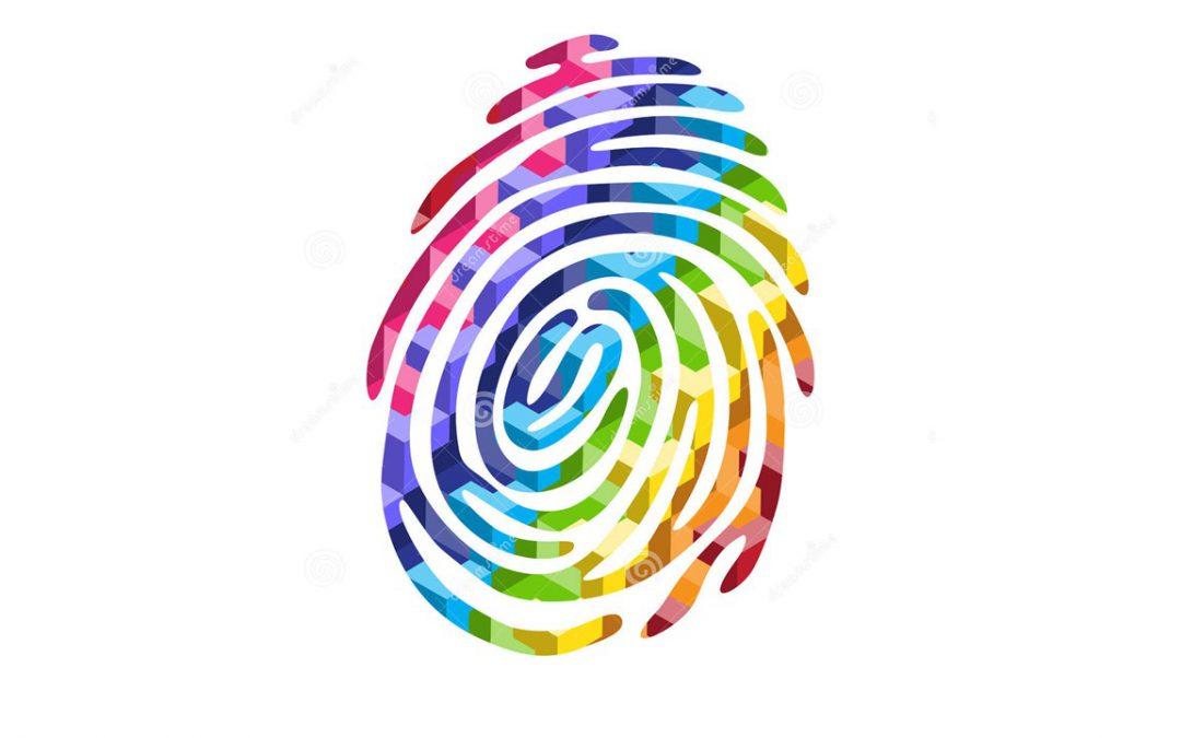 Marca personal de huella dactilar