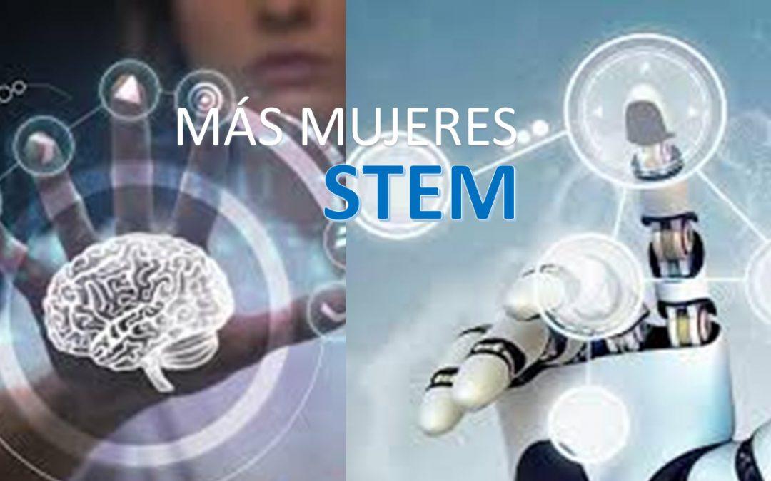 Más mujeres STEM